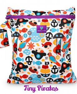 milovia wet bag tiny pirates