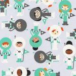 space explorers fondo gris