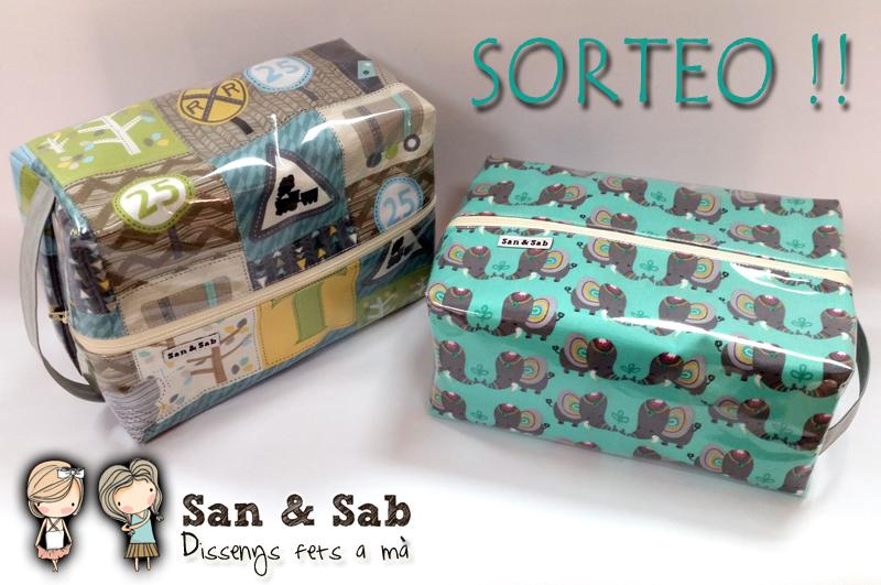SORTEO NECESER PLASTIFICADO SAN&SAB!!!