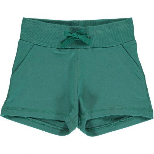 pantalon verde corto niña