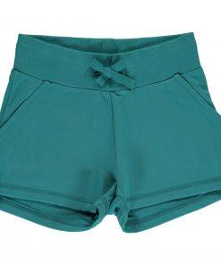 pantalon azul corto niña