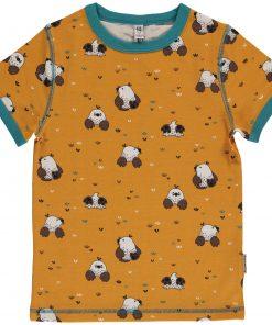 camiseta niño amarilla topo