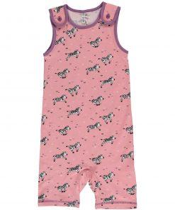 mono niña rosa zebras
