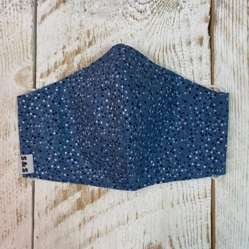 mascarilla Burbujas azul