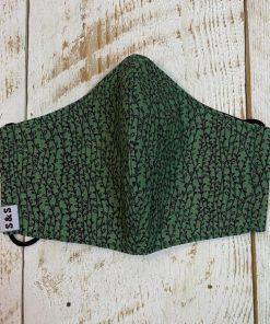 mascarilla Hojas verde oscuro