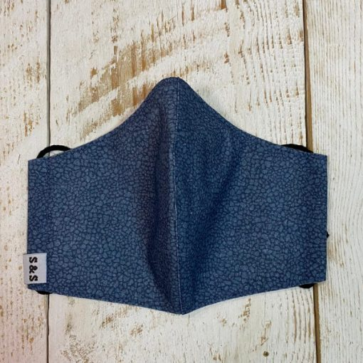 mascarilla Piedra azul denim